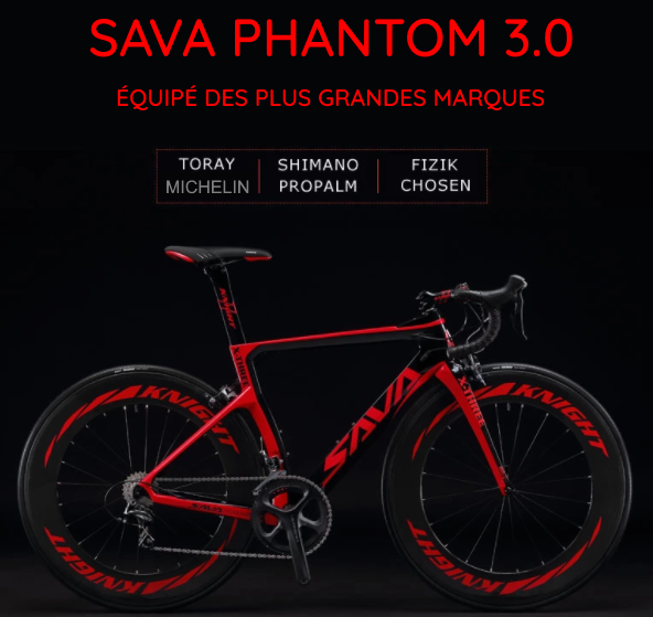Sava Phantom 3.0 rouge