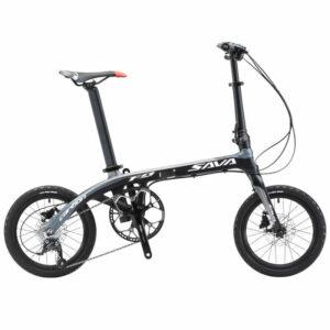 SAVA Z2 14″ – Vélo pliant en carbone 9 vitesses Vélos Pliants SAVA BIKE