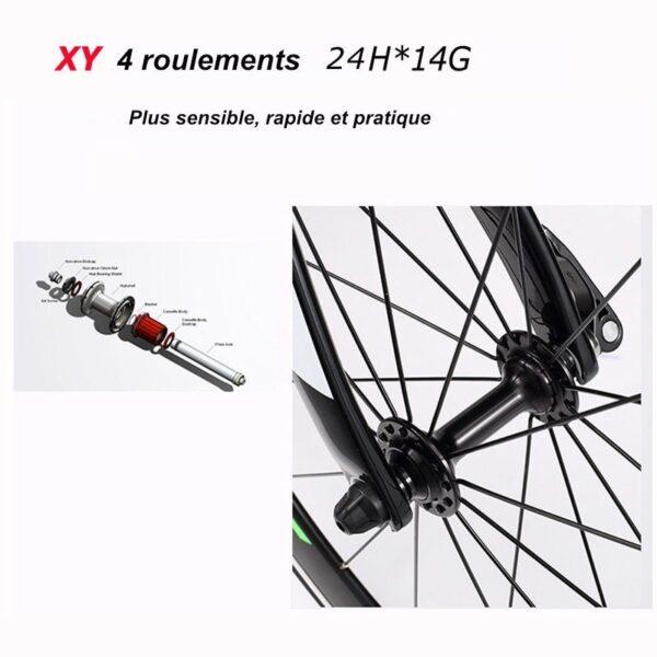 SAVA E6 Carbone – 20 Pouces 36V / 250 W – Vélo de Ville Pliable Electrique Vélos électriques VELO SAVA BIKE