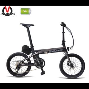 SAVA E8 Carbone – 20 Pouces 36V / 180 W – Vélo de Ville Pliable Electrique Vélos électriques SAVA BIKE
