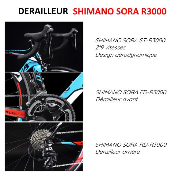 winds o war derailleur shimano sora R3000
